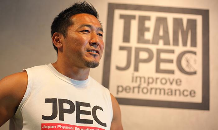 JPECのトレーナーさん