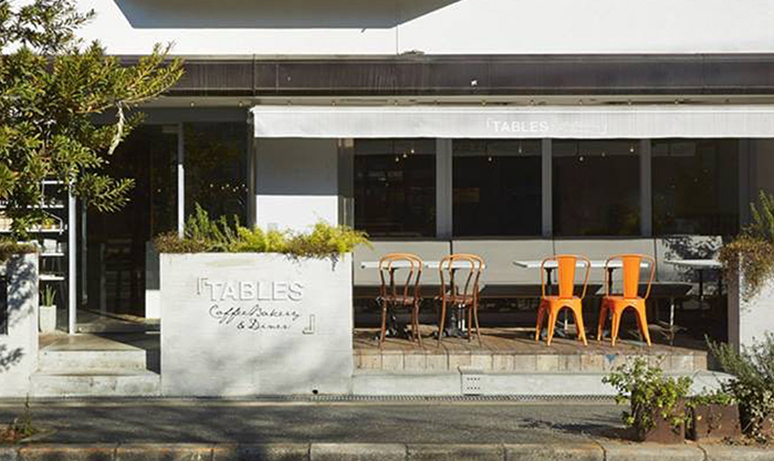 かわいいスイーツで堀江の優雅な昼下がり「公園前の食堂カフェ」