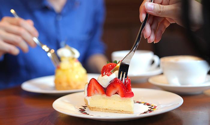 カップルで優雅なひととき。ケーキやランチで魅せる堀江カフェ