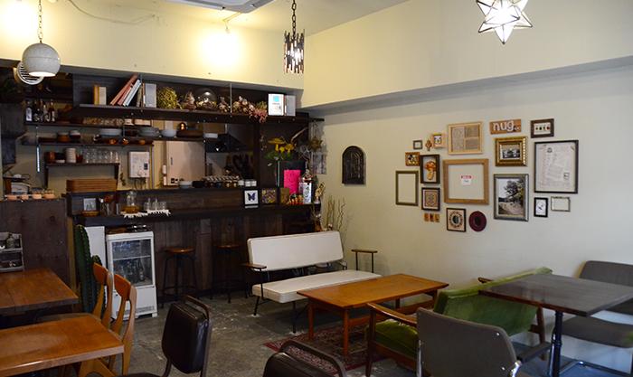 CAFE nug..の店内