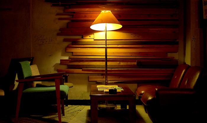 おしゃれな雰囲気のソファースペース