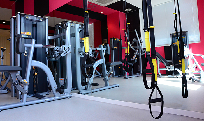 最新のトレーニング設備