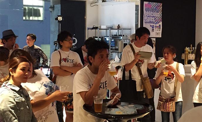 大阪を代表するあのラッパーも登場!?堀江魂Tシャツバル オープニングパーティをレポート!