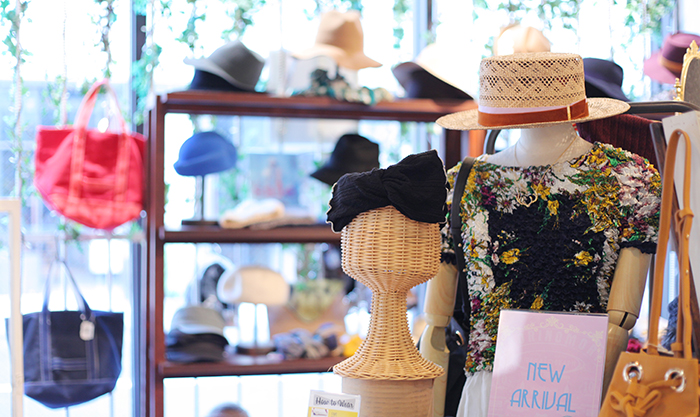 アイデアの宝庫!もっとオシャレが楽しくなる大阪堀江のメンズ・レディース帽子屋さん