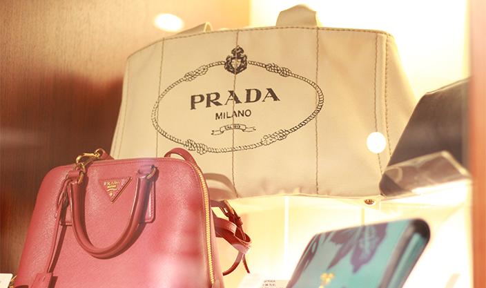 高級ブランドのバッグ
