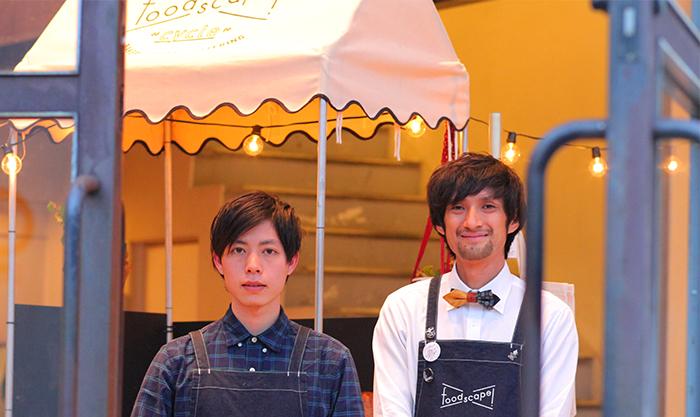 フードスケイプの坂本さんとスタッフ
