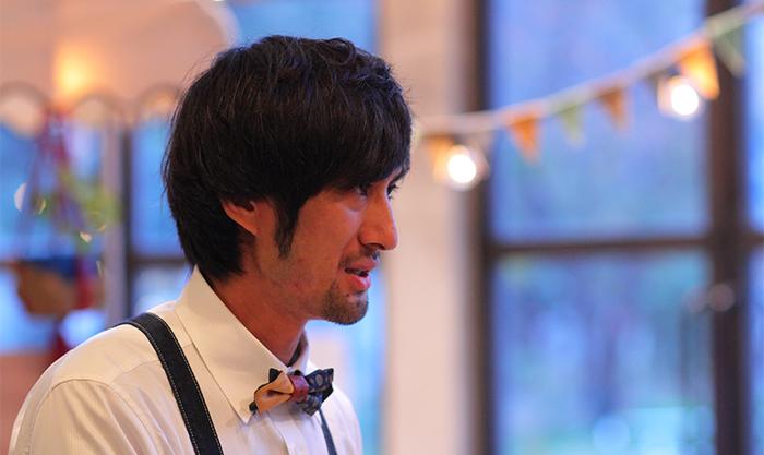 フードスケイプの坂本さん