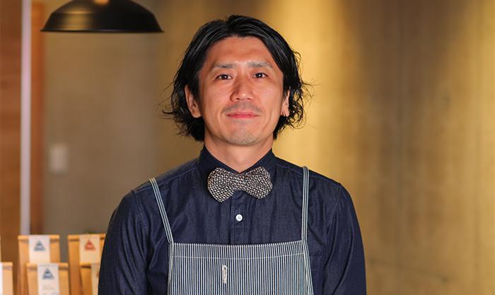 THE COFFEE COFFEE COFFEEの店主である坂井秀彰さん