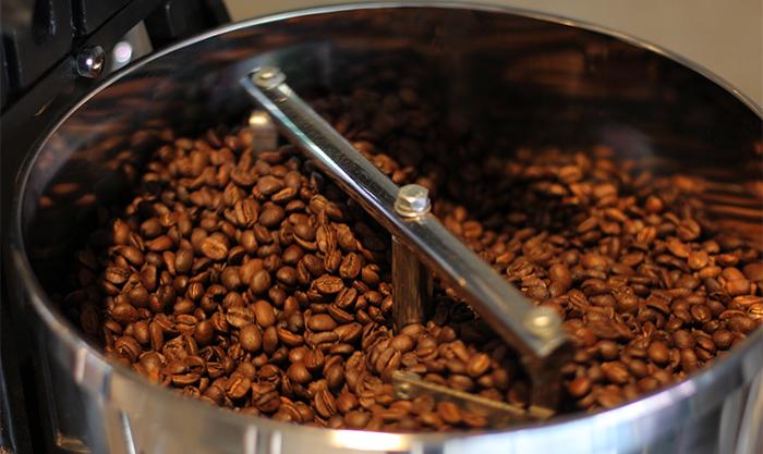 焙煎後の豆