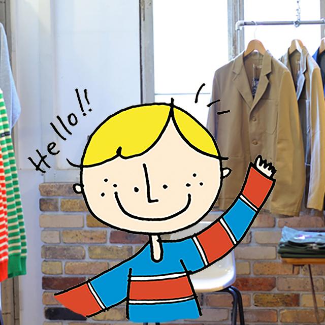 【OsakaBobが堀江巡り!】世界中から発掘した「語れる服」が魅力!北堀江「DIG UPPER」